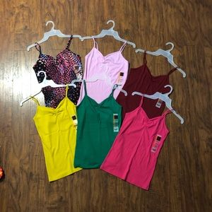 No Boundaries Large Lot Rib Cami NEW!